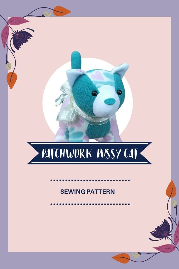 Patchwork Pussy Cat sewing pattern