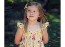 Shirred Dress sewing pattern (sizes newborn to 14)