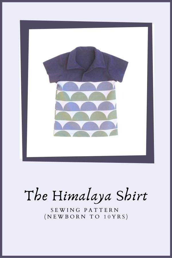 The Himalaya Shirt sewing pattern