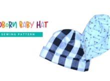 FREE Newborn Baby Hat sewing pattern