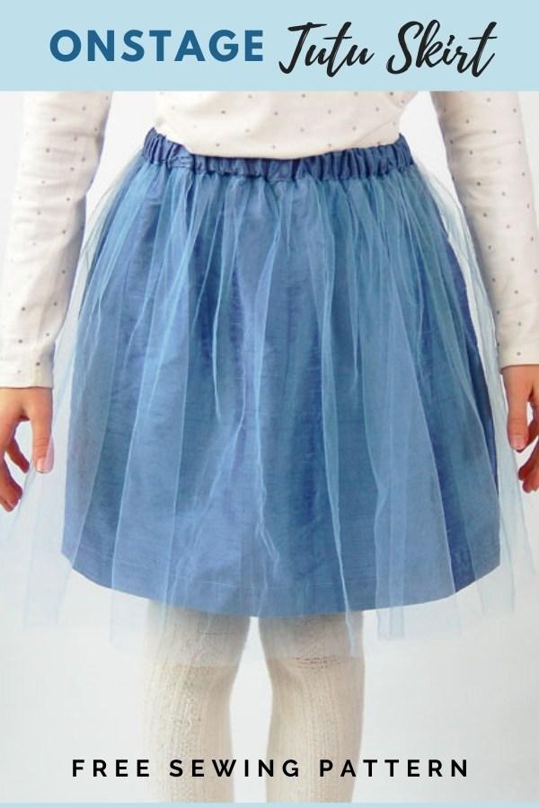 Onstage Tutu Skirt FREE sewing pattern