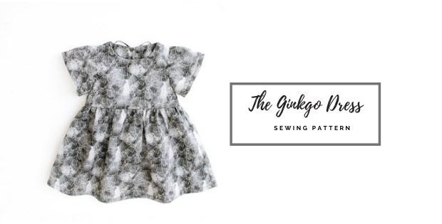 The Ginkgo Dress sewing pattern (0-10yrs)