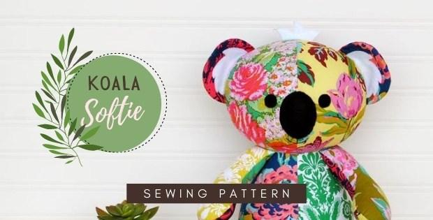 Koala Softie sewing pattern