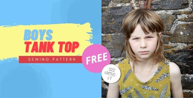 Boys Tank Top FREE sewing pattern (6mths-2T)