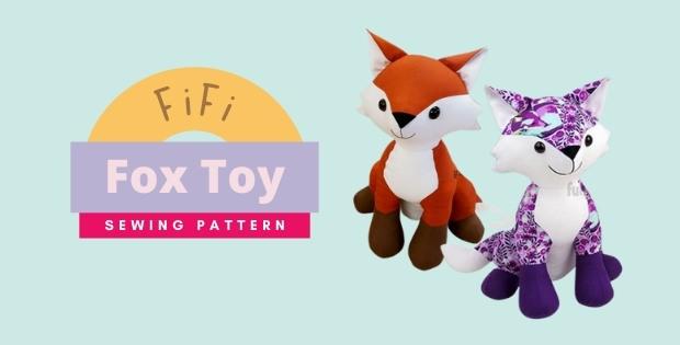 Fifi Fox Toy sewing pattern