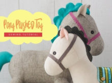Pony Plushed Toy sewing pattern