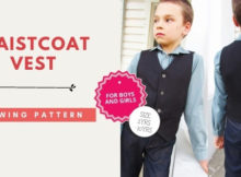 Waistcoat Vest sewing pattern (2-10 years) for boys and girls
