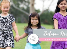 Dolman Dress sewing pattern (Sizes 0-14)