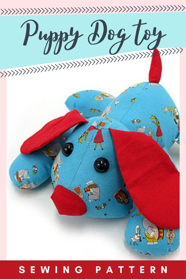 Puppy Dog Toy sewing pattern